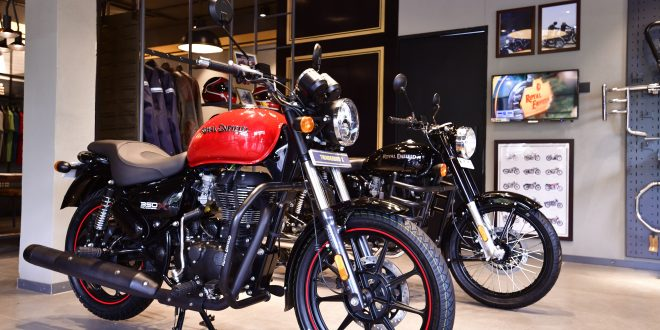 Royal Enfield supplies 1000 motorcycles in Rajasthan on Diwali
