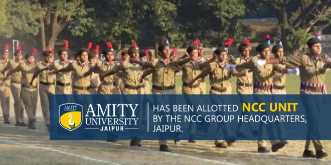 Allocation of NCC unit to Amity University