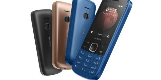 Nokia launches two feature phones with 4G support