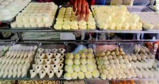 Adulterated sweets are being sold indiscriminately on festivals, identify fake and genuine