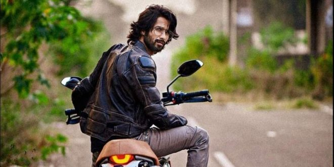 Shahid Kapoor fiercely enjoyed the morning ride