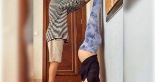 Pregnant Anushka Sharma did the headship…