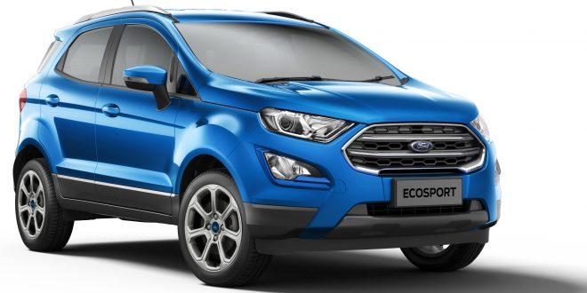 EcoSport offers sunroof in Titanium trim