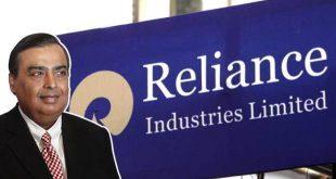 रिलायंस का शुद्ध लाभ 12 प्रतिशत बढ़कर 13,101 करोड़ रुपए पर