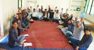 आईएफडब्लूजे की अलवर ईकाई की बैठक आयोजित