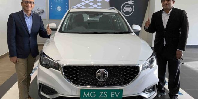 MG Motor will launch a mid-size SUV this year