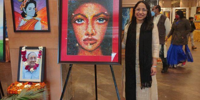 Inauguration of Corona Depression Free Painting Exhibition