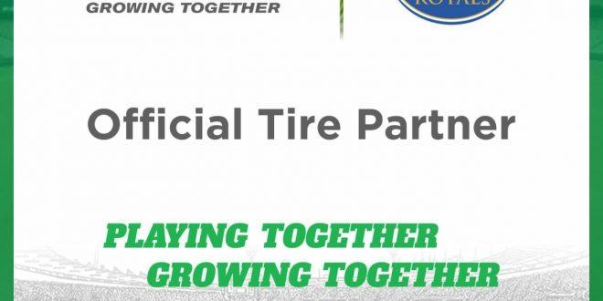 BKT Tires becomes RR's partner
