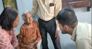 एक मुलाकात 92 वर्षीय स्वतंत्रता सेनानी और पूर्व विधायक पुष्पा शर्मा जी के साथ